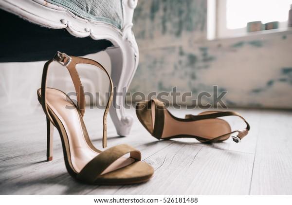 Rustic Stock High Photoedit Heels Now526181488 Floor Shoes On SpqzUMV
