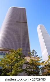 high hotel building in Beijing