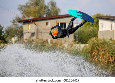 High jump on the wakeboard