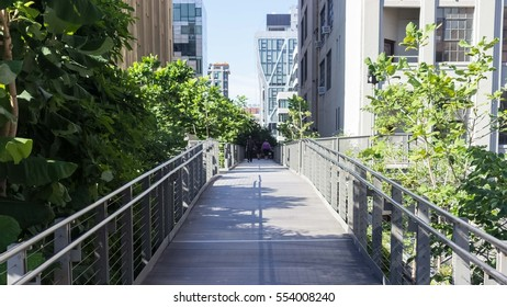 High Line Park - Manhattan, New York City, United States.