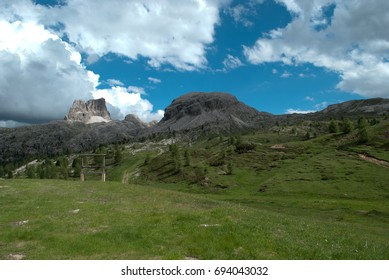 High mountain scenery