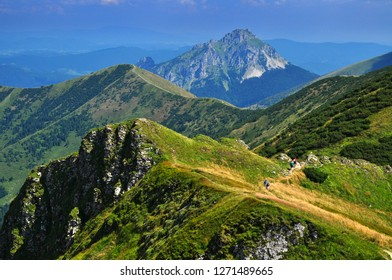 High Mountain trail of Mala Fatra, Nature of Slovakia