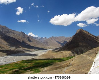 High in the mountains, the country of India. - Shutterstock ID 1751680244