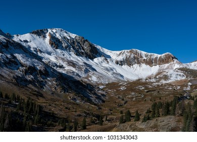 High peaks near cinnamon pass in the San Juan Mountains of Colorado