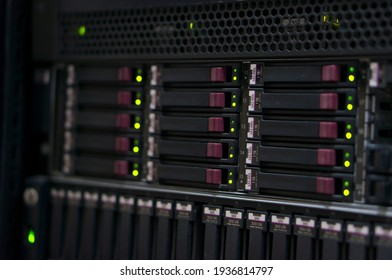 High performance servers in the operator's premises. Servers on the farm for the production of cryptocurrency