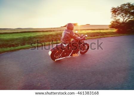 High power motorcycle chopper