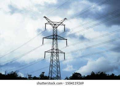 High Power Voltage Pylon in Laos