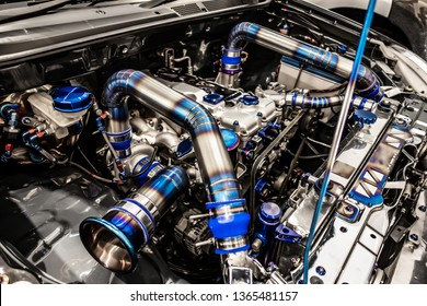 High precision muscle car engine, Customized race car engine
