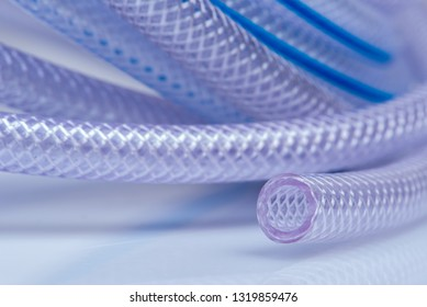 High Pressure Braided Clear Flexible PVC Tubing Heavy Duty UV Chemical Resistant Vinyl Hose