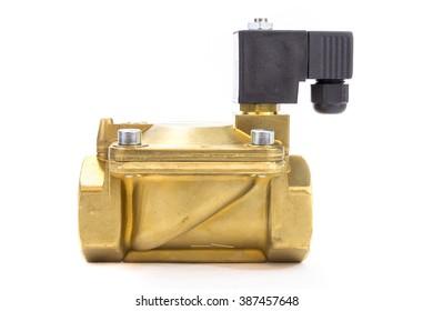 high pressure electronic metal valve