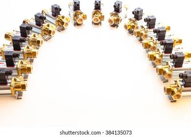 high pressure electronic metal valves