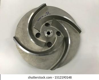 High pressure water pump impeller design.