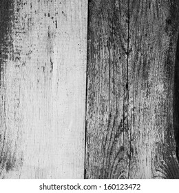 high quality black and white infrared background grunge texture  of wooden board with deep pattern