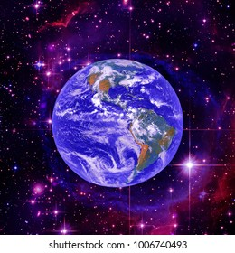 High quality Earth image. The elements of this image furnished by NASA.
