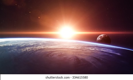 High quality Earth image. Elements of this image furnished by NASA