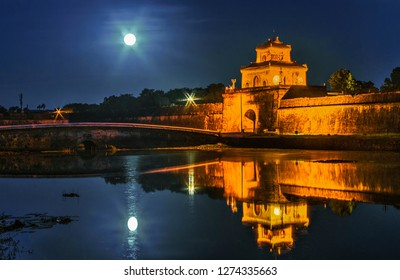 High quality images of Hue capital, THUA THIEN - HUE province. Photo taken at HUE, VIETNAM. September 29, 2015