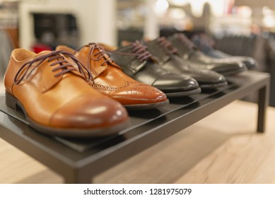 high quality men's shoes in the shop