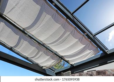Hochwertiges modernes Terrassendach