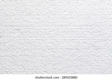 High quality polystyrene foam texture or background.