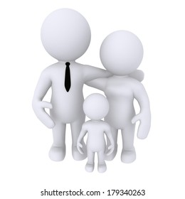 High quality rendered figure shows classic family
