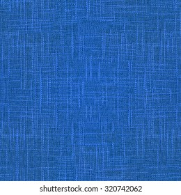 A high quality seamless texture of rough blue fabric. Perfect to generate huge background with this texture.
