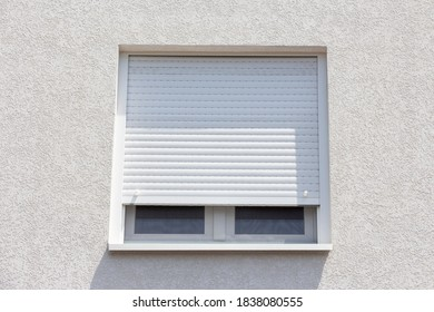 High quality uPVC windows with double glazed glass and roller shutters
