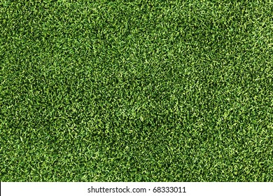 High Resolution Artificial Grass Field Top View