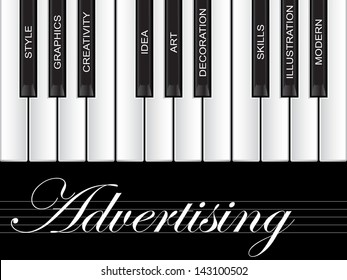 High resolution concept or conceptual white text word cloud tagcloud as piano keys isolated on white background,metaphor to art,style,graphics,creativity,idea,modern,ornament,creative,vision artwork