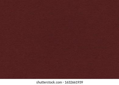 High Resolution Dark Wine Red Recycled Striped Kraft Paper Coarse Grain Texture