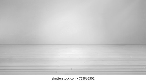 High resolution gray wall and wood floor in room
