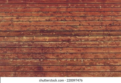 High resolution grunge wood wall backgrounds in retro style