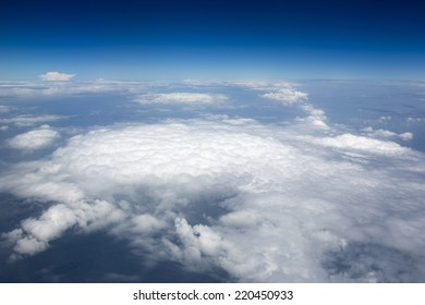 High resolution images of clouds and blue sky
