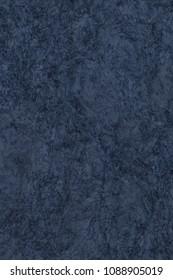 High Resolution Photograph Of Striped Dark Navy Blue Pastel Paper Mottled Coarse Grain Grunge Texture