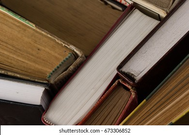 High resolution picture depicting books concept.