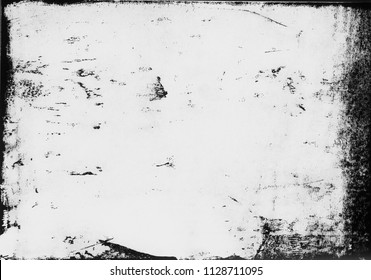 A high resolution scan of a black and white distressed lino print texture. The scan has been inverted making it ideal for use as a lighter background texture.