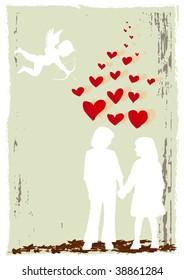 High resolution valentine poster