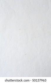 High resolution white sheet of handmade paper