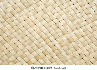 High resolution woven sea grass diagonal weave pattern of a basket