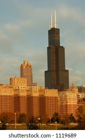 High rise buildings in Chicago