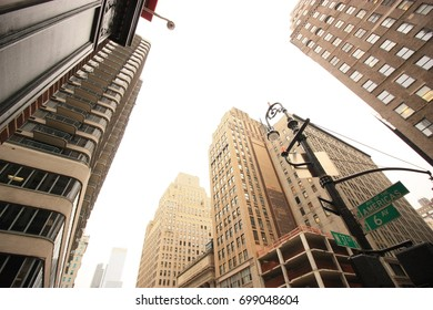 High rise buildings of New York