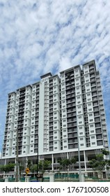 High rise residential apartment during clear weather