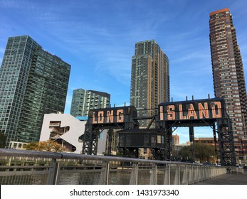 High rise residential buildings in Long Island City New York
