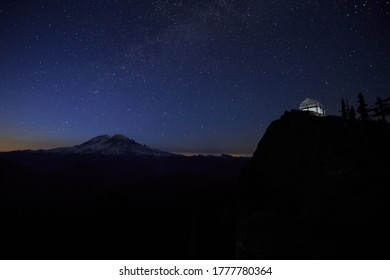 High Rock Fire Lookout In Washington State