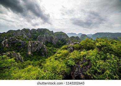 High Rock Mountain Sam Roi Yod National Park, Thailand