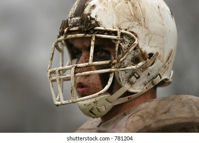 High School football. Horizontal (one of two photos).Editorial use only.