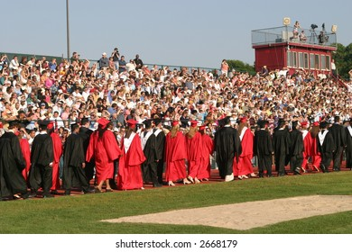 High school graduation.