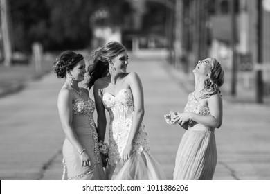 High School Prom Photo