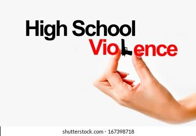 High school violence