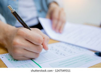 high school,college,university student study in class.examiner testing in examination room.concept for scholarship to study abroad.world international education learning,research for new knowledge