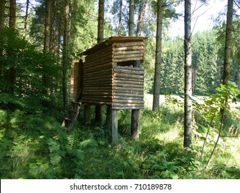 High seat for hunters, in Styria Austria.